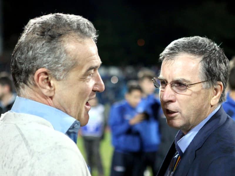 Gigi Becali, Valeriu Argaseala